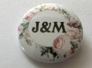Svatební placky, svatební odznaky